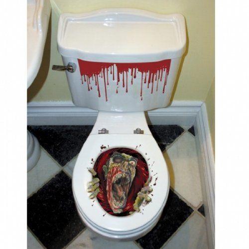 Halloween Toilet Seat Grabber Decoration Amscan…