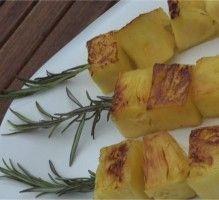 Recette - Ananas au romarin à la plancha - Notée 5/5 par les internautes