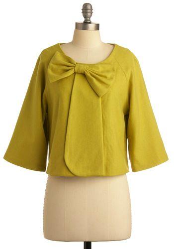 Lemongrass Is Always Greener Jacket