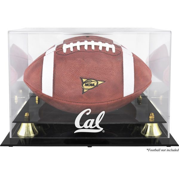 California Bears Fanatics Authentic Golden Classic Football Display Case with Mirror Back - $69.99