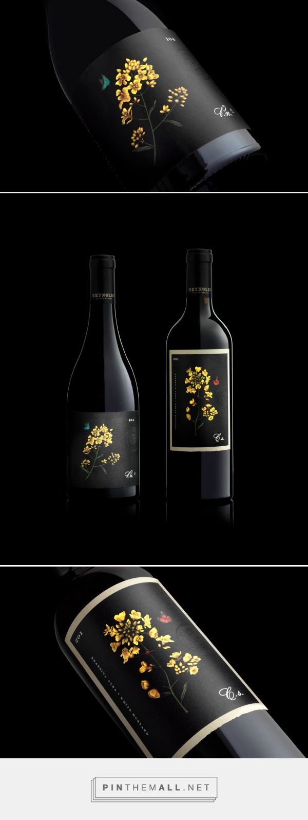 Reynolds Family Winery Wine Packaging by Swig Studio | Fivestar Branding Agency – Design and Branding Agency & Curated Inspiration Gallery
