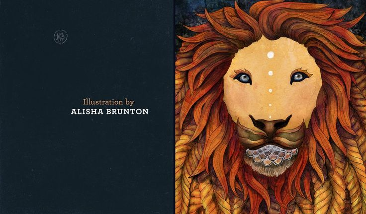 Little Lot | Panthera Lion from Alisha Brunton Illustration