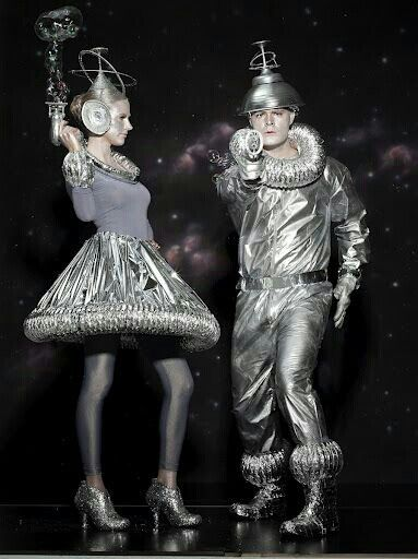 Silver Space Costumes