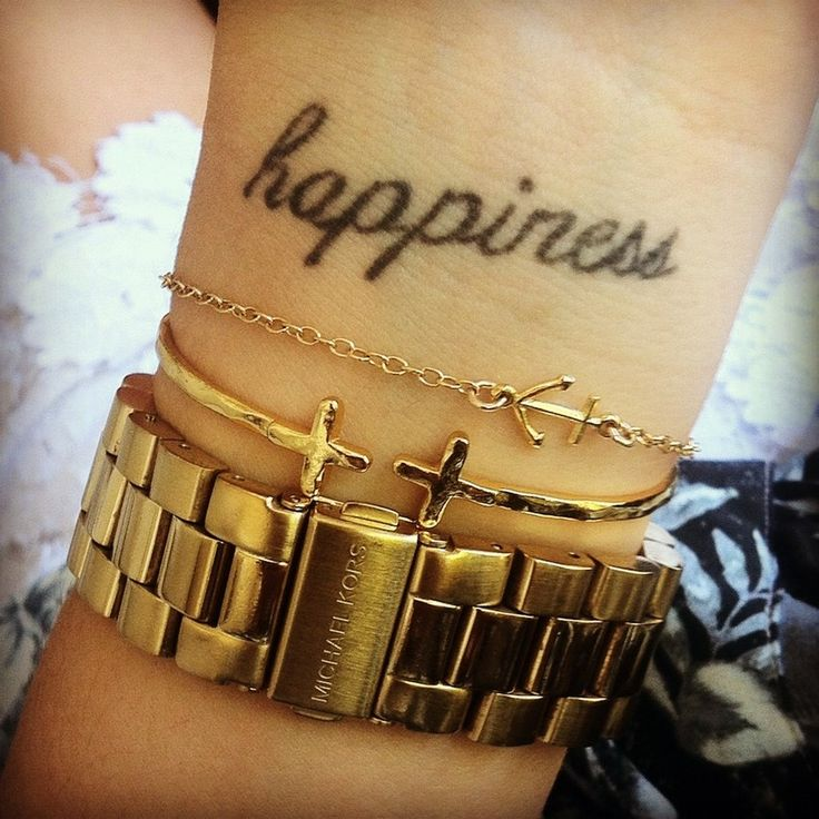 : Fonts Tattoo, Tattoo Ideas, Anchors Bracelets, Wrist Tattoo, Tattoo Fonts, Happy, Ink Tattoo, A Tattoo, Arm Candies