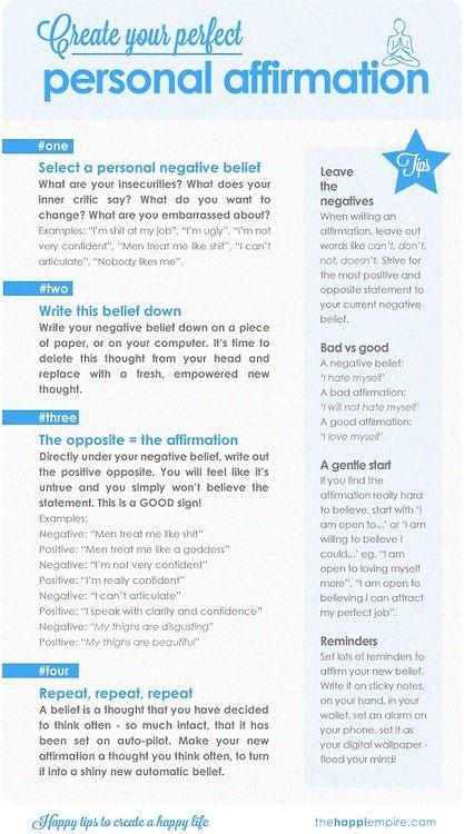 Similiar Self Affirmations Keywords