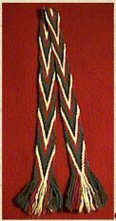 Cherokee Finger weaving - http://www.northwestjournal.ca/sash.html