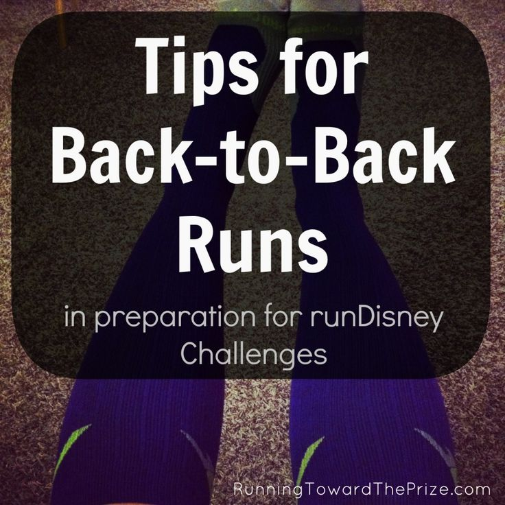 training for Run Disney Princess Glass Slipper Challenge