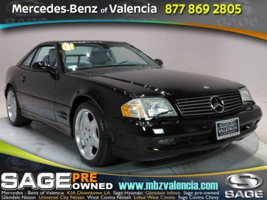 convertible 2001 mercedes benz sl 500 with 2 door in valencia ca 91355 mercedes benz mercedes benz pinterest