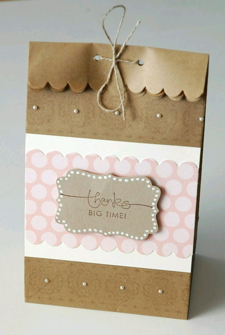 2917 best boxes images on pinterest brown bags candy stations 15 ideas para hacer lindas bolsas de obsequios decorated gift bagspaper jeuxipadfo Choice Image