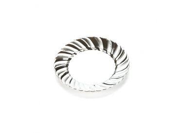 Silver Plastic Dessert Plates  | Whish.ca