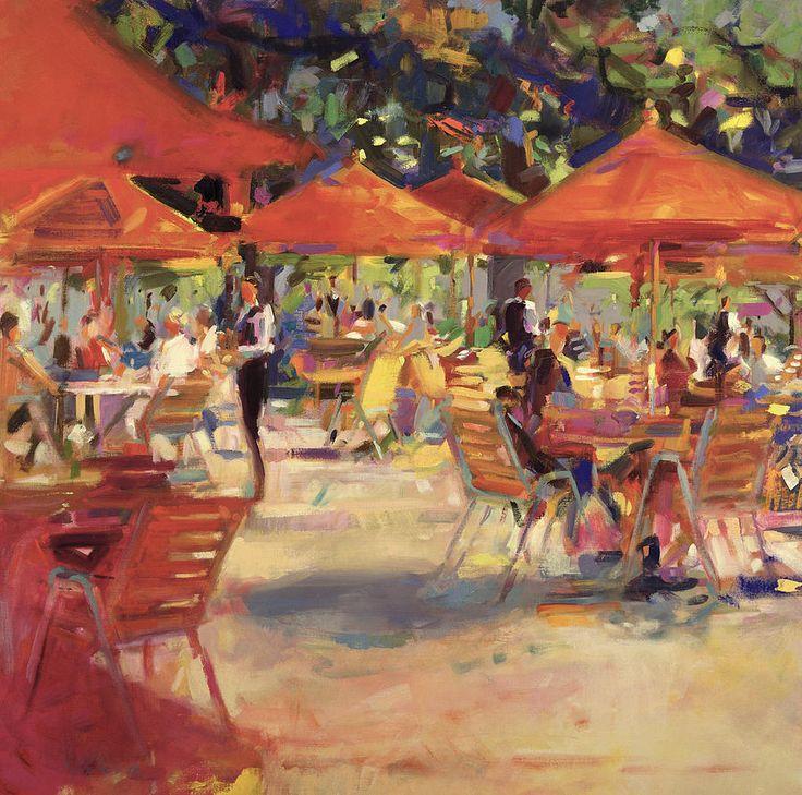 """""""Le Cafe Du Jardin"""" by Peter Graham"""