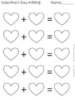 34 best Rekenen: verliefde harten images on Pinterest