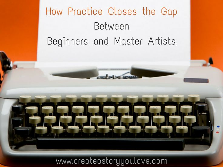 How Practice Closes the Gap Between Beginners and Master Artists by Lorna Faith