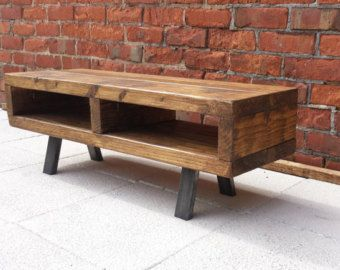 Rustic industrial furniture by Redcottagefurniture on Etsy