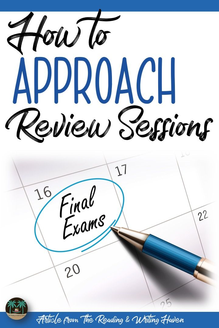 how to study for final exams I myself practice this as it's quite effective in handling all of the stresses that arise with upcoming exams create a study calendar 8 responses to how to prepare for exams with 1.