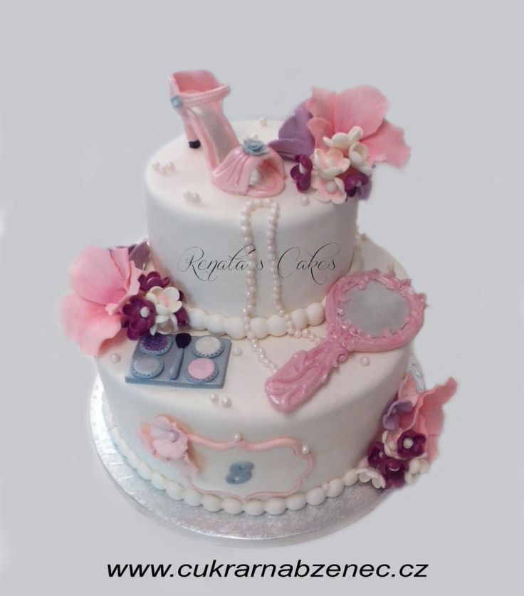 Little girl´s white cake - Cake by Renata