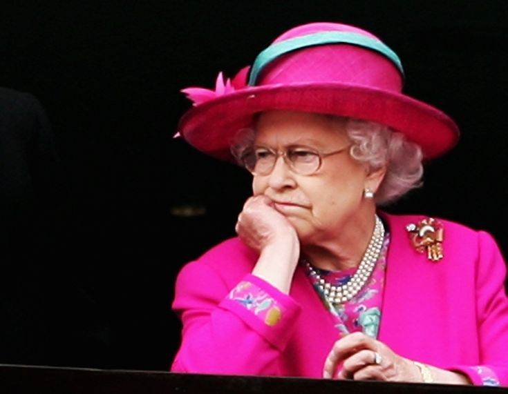 Queen Elisabeth II Queen Lizzie don't care! haha