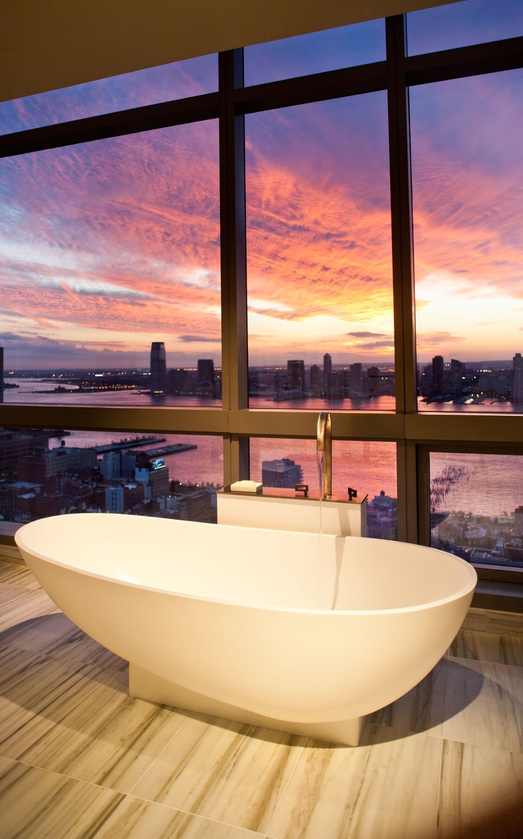 Trump Soho New York The Suite Provides Unparalleled Views Of City Sunset With Floor To Ceiling Windows