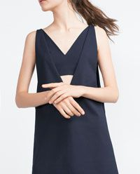 Image 4 of PINAFORE DRESS from Zara