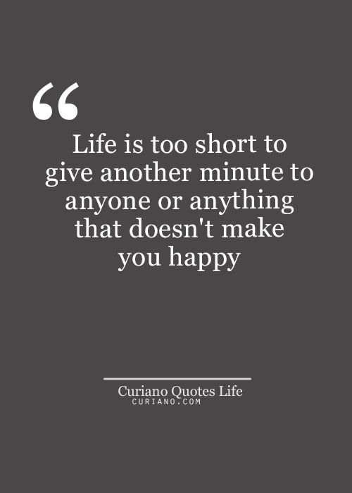 life is too short relationship quotes