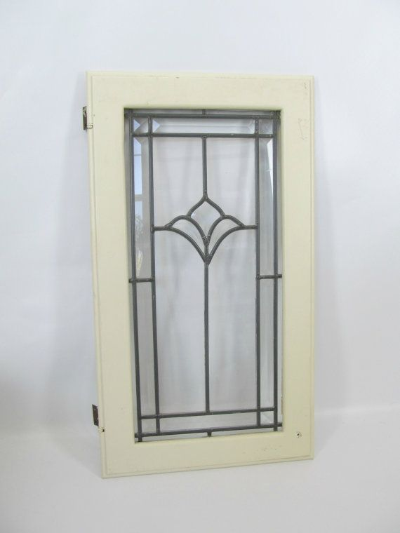 25 best ideas about leaded glass cabinets on pinterest for Stained glass kitchen windows