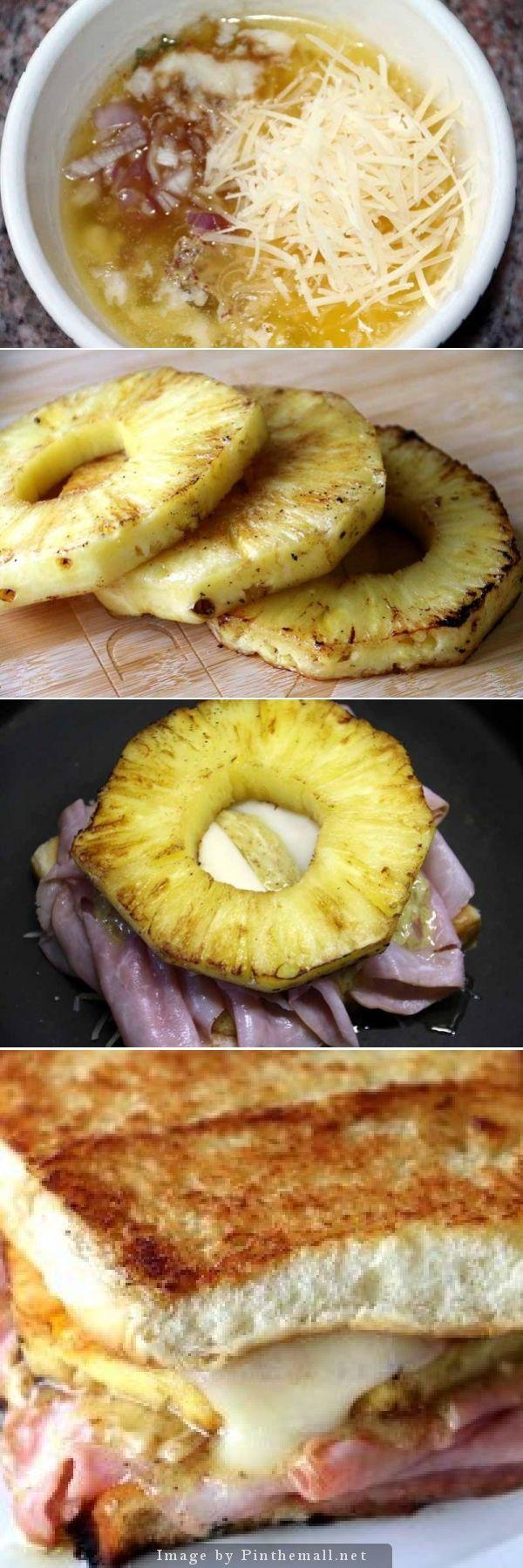 Hawaiian Grilled Cheese Recipe