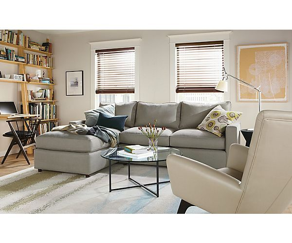 York Sofa With Chaise Living Room   Living   Room U0026 Board
