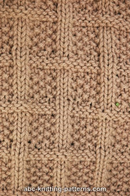 #Free #Knitting #Pattern - Lattice Baby Blanket.