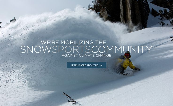 Protect Our Winters is the leading climate advocacy group for the winter sports community. We're building a movement against climate change. Please join us