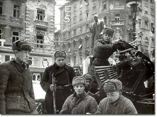 The Siege of Budapest November 1944-February 1945 the only major ghetto to survive World War II.