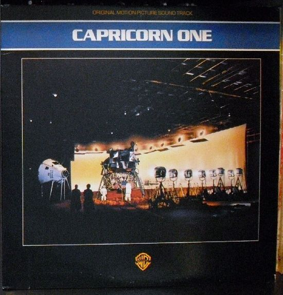 Jerry Goldsmith - Capricorn One: Original Motion Picture Sound Track: buy LP, Album at Discogs