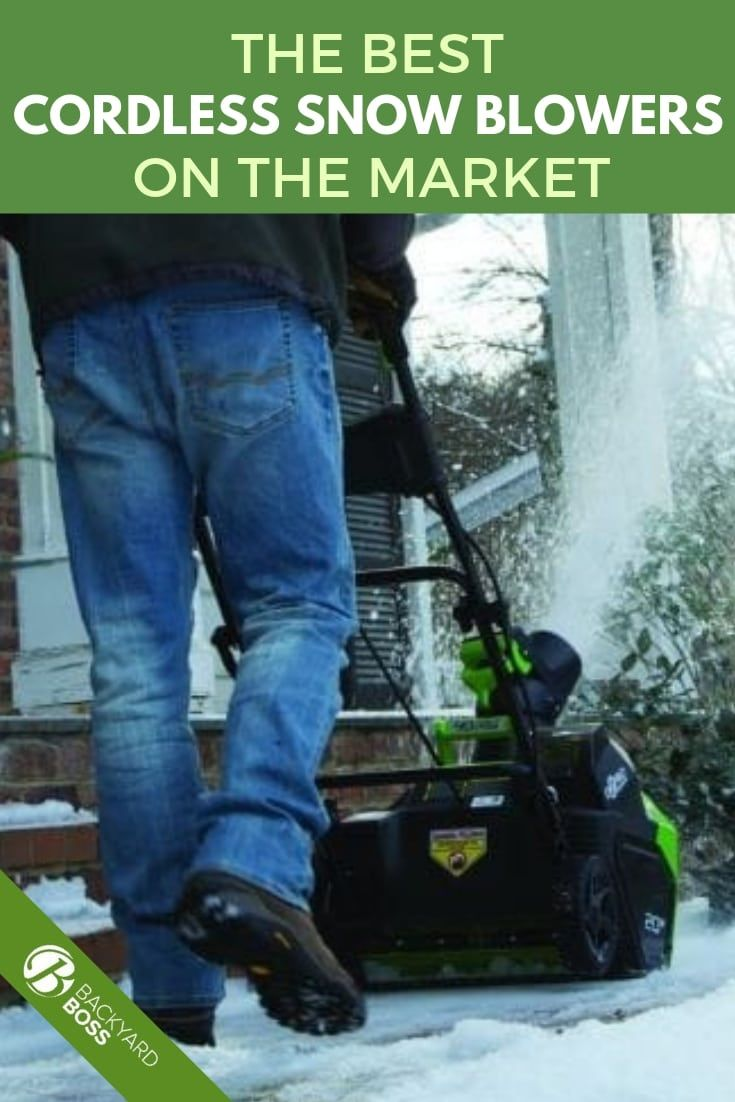 Best Cordless Snow Blowers Electric Snow Blower Garden Tools Snow