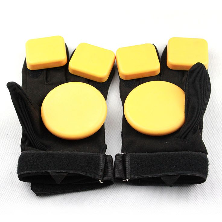 free shipping long board gloves skate board gloves Skateboard Longboard Slide Gloves With Slider Professional Protective Gloves