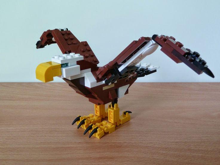 Totobricks: LEGO 31004 LEGO CREATOR 3 IN 1 Fierce Flyer Eagle ... http://www.totobricks.com/2014/12/lego-31004-lego-creator-3-in-1-fierce.html