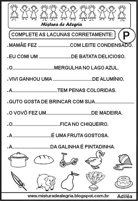 sequ%C3%AAncia-de-fichas-de-leitura-lacunada-P-alfabetiza%C3%A7%C3%A3o-imprimir-colorir.JPG (464×677)