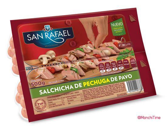 MonchiTime San Rafael lanza la primera Salchicha de Pechuga de Pavo del mercado