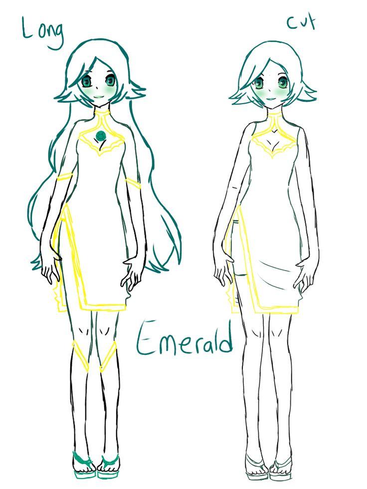 My Steven universe oc Emerald
