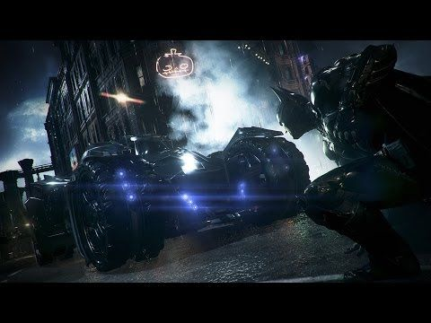 """▶ Official Batman: Arkham Knight Gameplay Trailer -- """"Evening the Odds"""" - YouTube"""