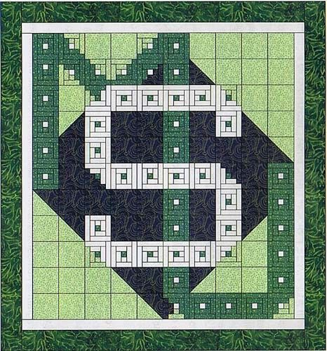 Michigan State University Quilt Pattern Michigan State