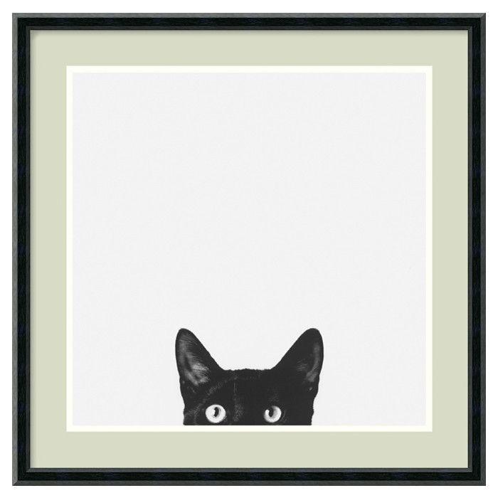 --- Curiosity Framed Print