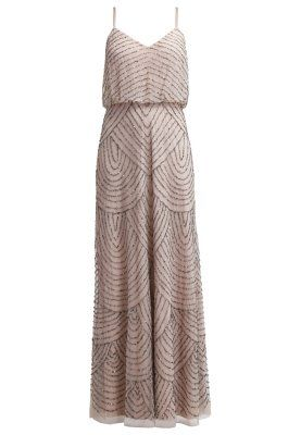 Robe de cocktail - taupe/pink