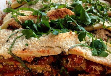 Fast Paleo » Eggplant & Summer Squash Lasagna - Paleo Recipe Sharing Site