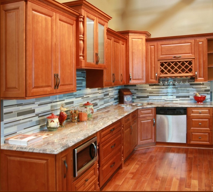 Honey Oak Kitchen Cabinets: 21 Best Images About Remodel Ideas On Pinterest