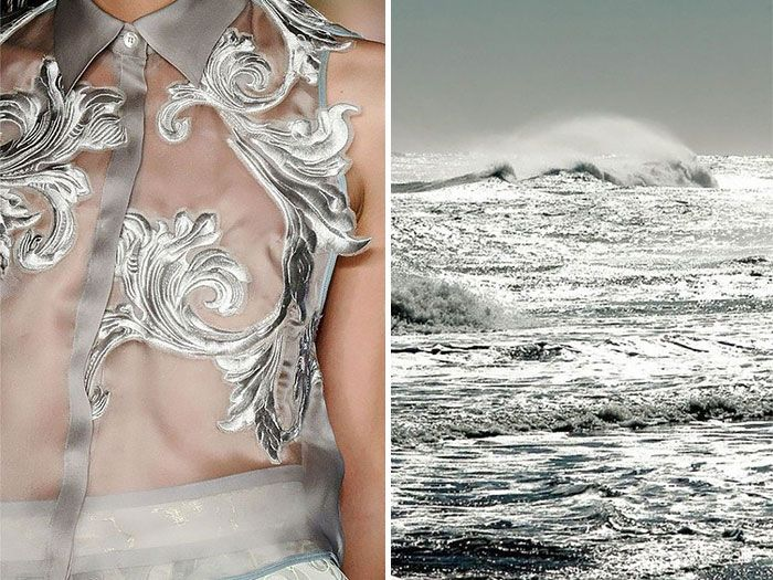 Fashion and Nature: A Russian Artists Compares Designer Dresses with Nature - Women Daily Magazine