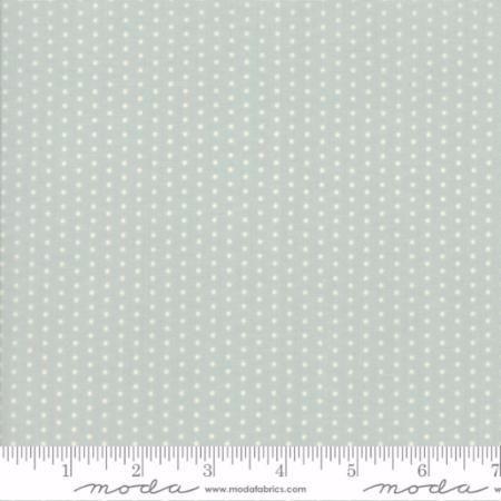 49008-16 Darling Little Dickens Pin Dot Aqua