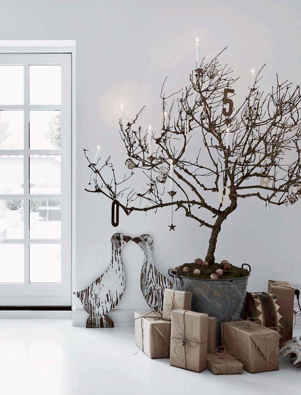 De mooiste witte kerst interieurs - Makeover.nl