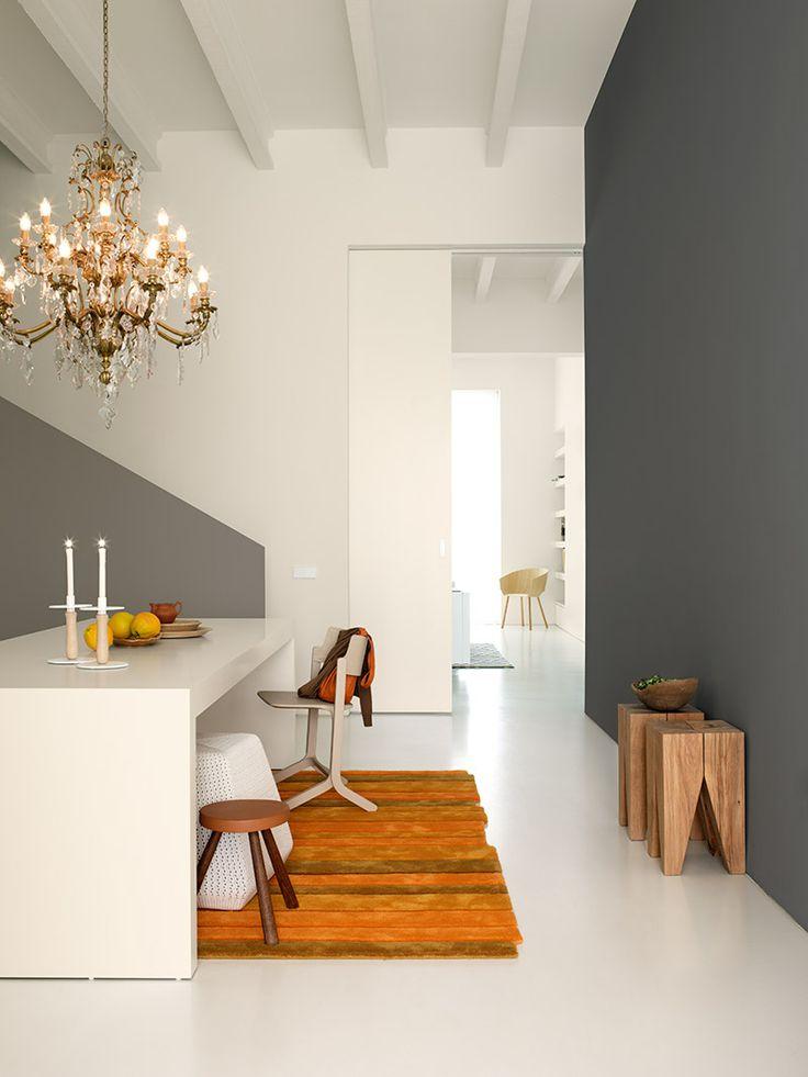 Stek magazine 07 2013 dezelfde kamer vijf keer anders met flexa verf stek kleur - Kleur van de muur kamer verf ...