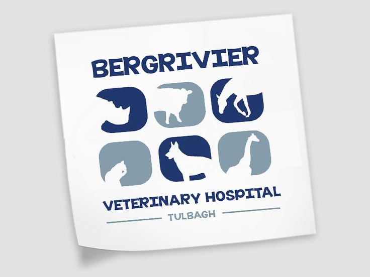 Bergrivier Veterinary Logo Design #moderndesign #logodesign