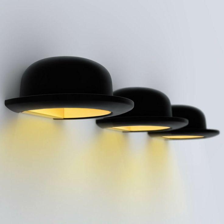 Les 270 meilleures images du tableau luminaire sur pinterest - Tableau chapeau melon pomme verte ...