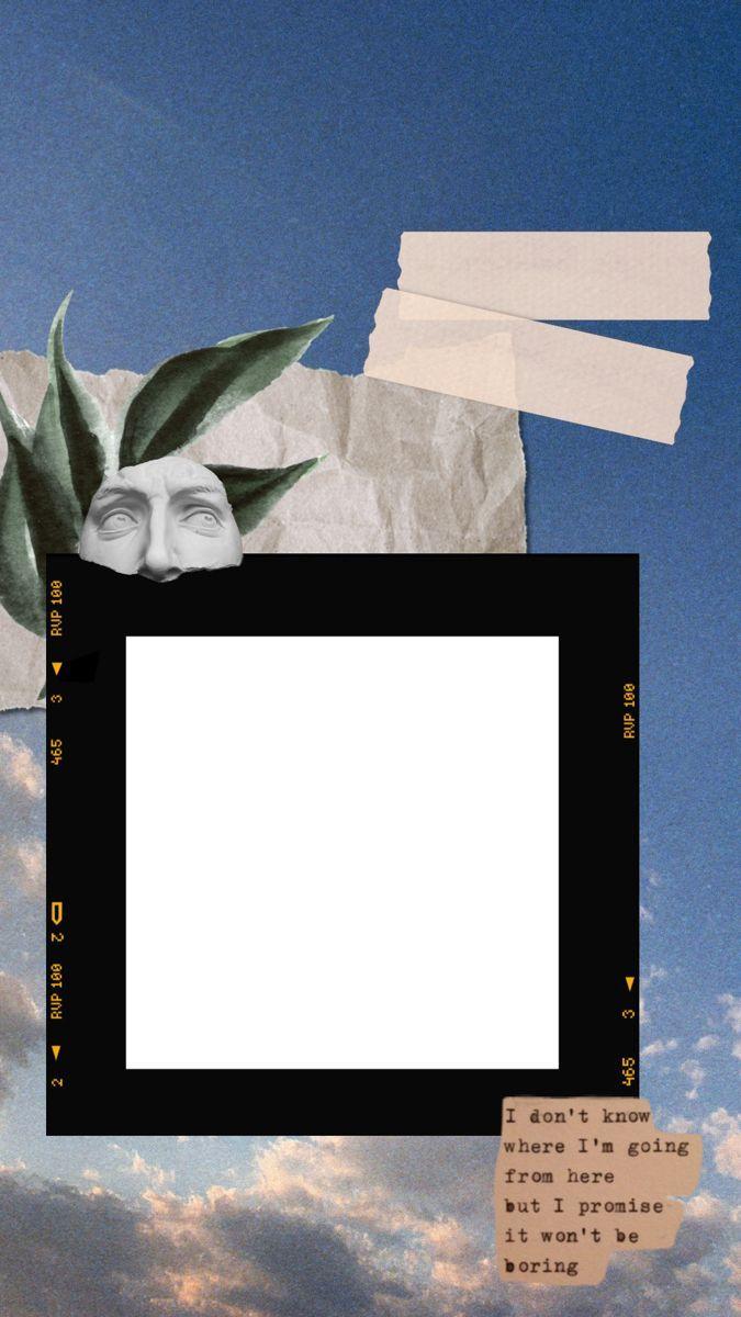 12 Aesthetic Instagram Stories Collage Template Polaroid Bingkai Polaroid Bingkai Kolase